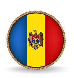 Moldova Seal vector image