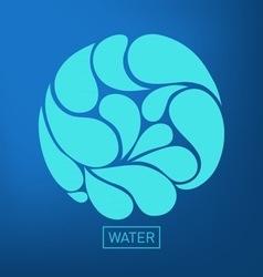Water vector image