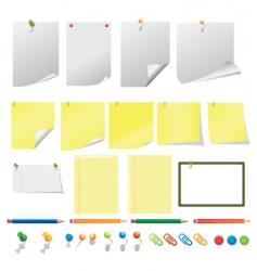 office equipment's vector image