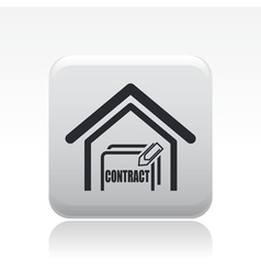 house sale icon vector image vector image