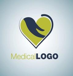 MEDICAL LOGO 2 vector image