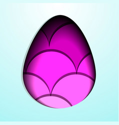 colorful easter eegs set vector image vector image
