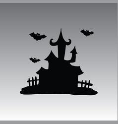 house hallowen clip art vector image vector image