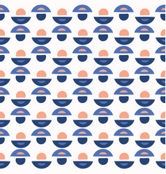 abstract geo dot pattern blue and white vector image