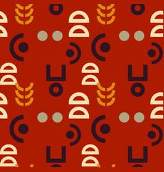 Alien signs seamless pattern vector