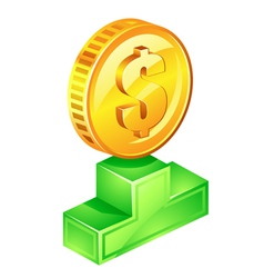 best price icon vector image
