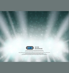 christmas night background with sunburst in the vector image