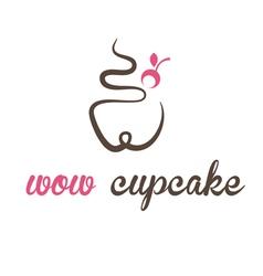 Concept cupcake vector
