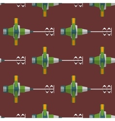 Construction mixer seamless pattern vector