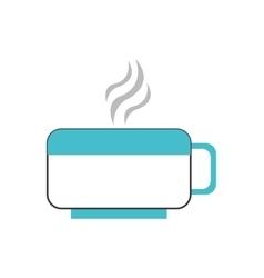 hot cup icon vector image
