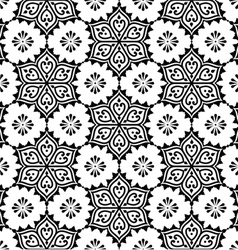 Indian seamless pattern repetitive Mehndi design vector