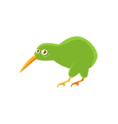 Kiwi Bird Toy Exotic Animal Drawing vector image
