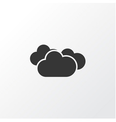 Overcast icon symbol premium quality isolated vector