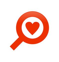 Search love symbol vector