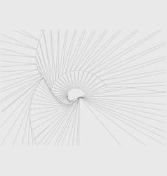 Abstract way vector
