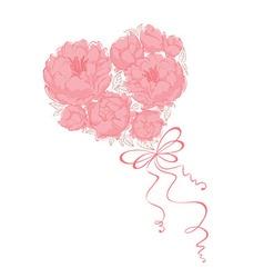 Bridal Bouquet - vector image vector image