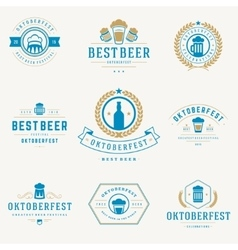 Retro style labels badges and logos set vector image vector image