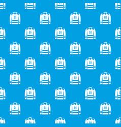 Sport uniform pattern seamless blue vector