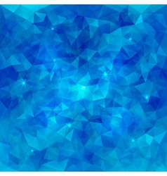 Abstract Triangle Pattern Water Background vector image