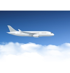 Airplane In Air Poster vector