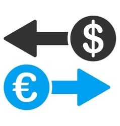 Currency Transactions Icon vector