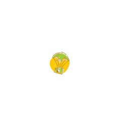 cute camera logo icon vector image