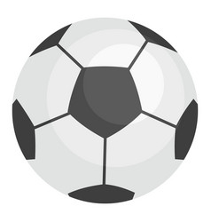 football ball icon flat style vector image