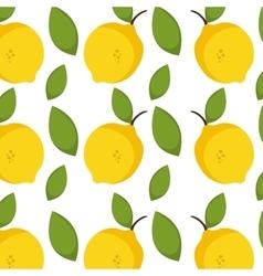 Lemon fruit background vector