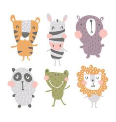 nursery characters vector image