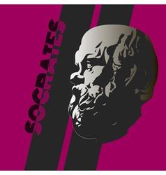 Socrates vector image