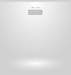 soft white gray gradient studio presentation vector image