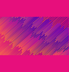colorful linear patterns vector image