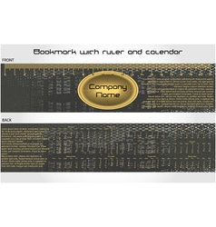 Modern bookmark vector