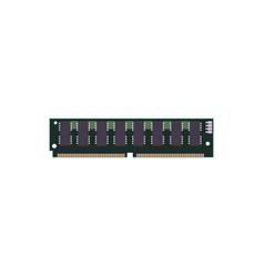 Ram 72 pin simm vector