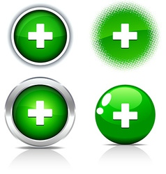 Switzerland buttons vector