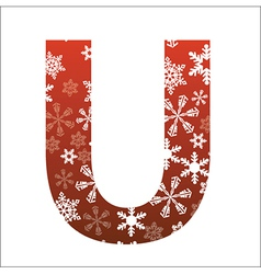 U Letter vector