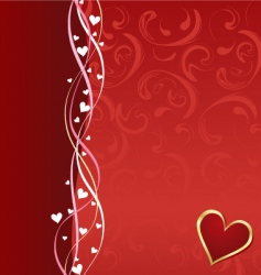 valentine composition vector image