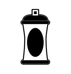 Open aerosol can icon image vector