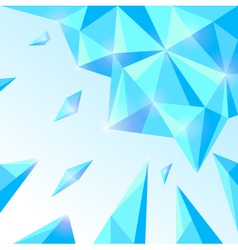 Ice abstract background vector image