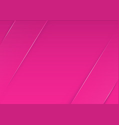Abstract pink striped background vector