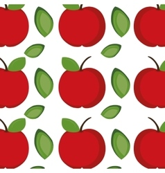 Apple fruit background vector
