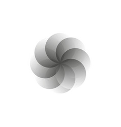creative icon - circle decorative element vector image