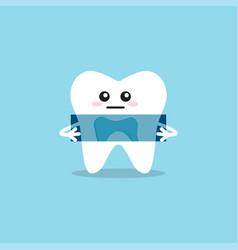 dental x-ray icon vector image