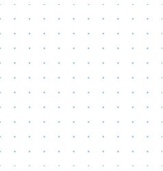 Dotted grid graph paper seamless pattern vector