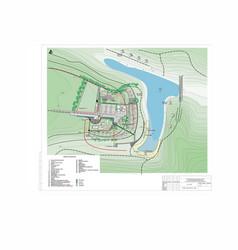 Draft master plan for residence the vector