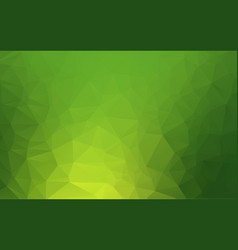 light green abstract polygonal template glitter vector image