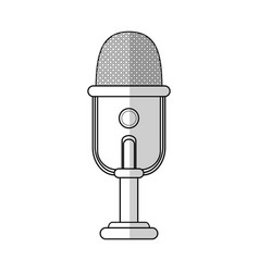 microphone icon image vector image