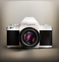 Old School Camera vector image
