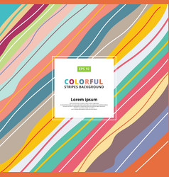 abstract colorful pastels diagonal striped vector image vector image