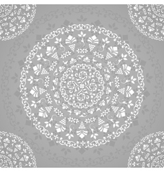 Ornamental Seamless Lace Background vector image